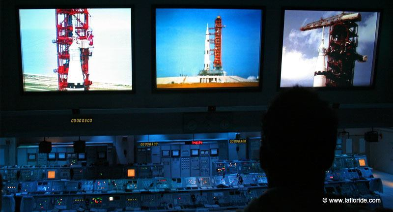 Apollo launch control room