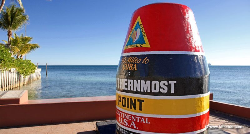 Southernmost Point à Key West