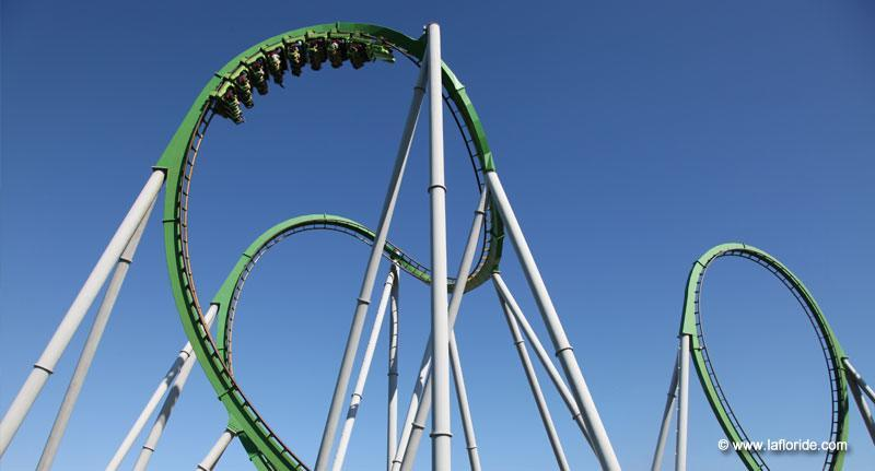 Incredible Hulk Coaster, Universal Studios Orlando