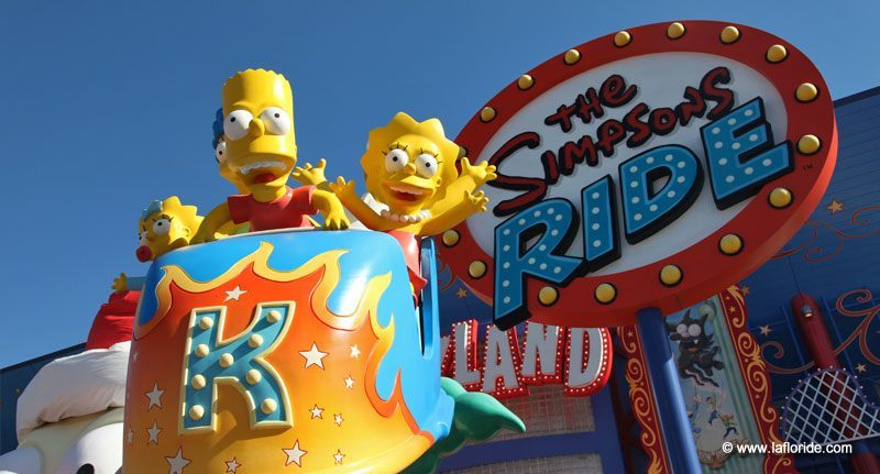 The Simpsons Ride, Universal Studios Orlando